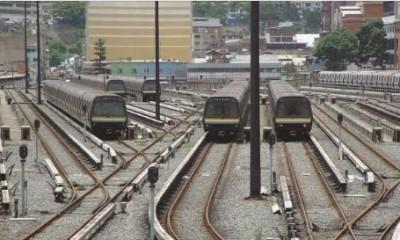 Líneas 1, 2 y 3 del Metro de Caracas